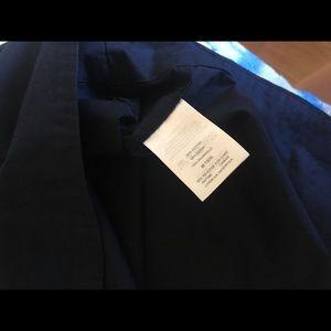 J. Crew Dresses - J Crew Blue Lace-up Tie Shirt Dress Small lace